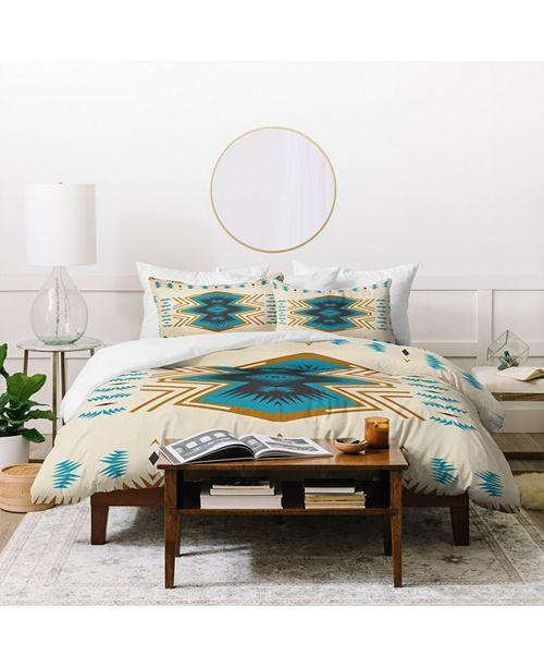 Deny Designs Holli Zollinger Colorado Painted Twin Duvet Set
