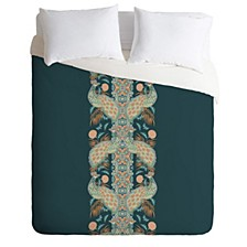 Holli Zollinger Chateau Peacock Twin Duvet Set