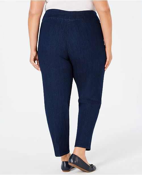 535f7f9464d Alfred Dunner Plus Size Greenwich Hills Pull-On Pants   Reviews ...