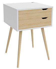 Blythe 2-Drawer Side Table