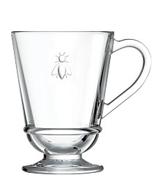 La Rochere Napoleon Bee 9-ounce Coffee Cups, Set of 6