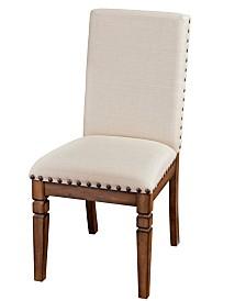 Cornerstone Burnished Mocha Side Chair, Cushion Seat