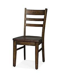 Homestead Tobacco Leaf Ladderback Chair