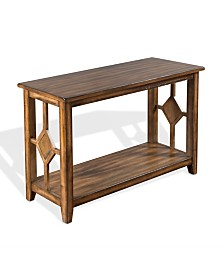 Coventry Burnish Mocha Sofa/Console Table
