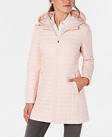 kate spade new york Bow-Quilted Coat