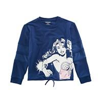 DC Comics Big Girls Wonder Woman Top
