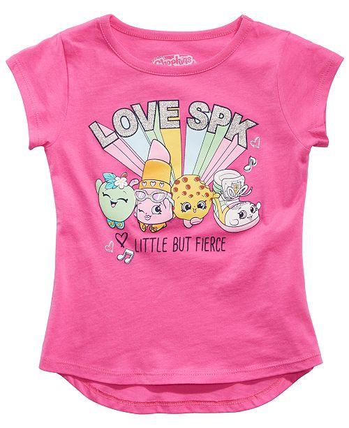 Shopkins Little Girls Little But Fierce T-Shirt