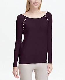 Calvin Klein Hardware-Detail Sweater