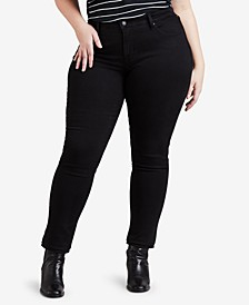 Plus Size 311 Shaping Skinny Jeans
