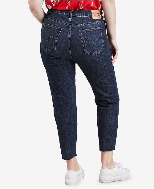 Levi s Plus Size High-Waist Skinny Wedgie Jeans - Jeans - Plus Sizes ... d3339d4c4c