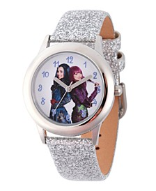Disney Descendants 2 Evie and Mal Tween Girls' Stainless Steel Watch