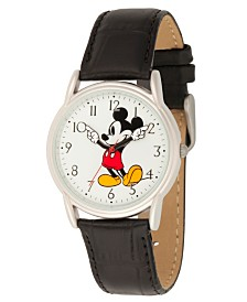 Disney Mickey Mouse Men's Silver Cardiff Alloy Watch