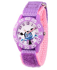 Disney Vampirina Girls' Purple Plastic Time Teacher Watch