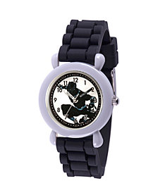 Marvel Black Panther & Avengers Boys' Gray Plastic Time Teacher Watch