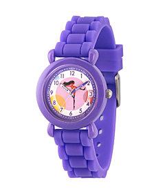 Disney The Incredibles 2 Violet Parr Girls' Purple Plastic Time Teacher Watch
