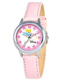 Disney Tinker Bell Girls' Stainless Steel Time Teacher Watch
