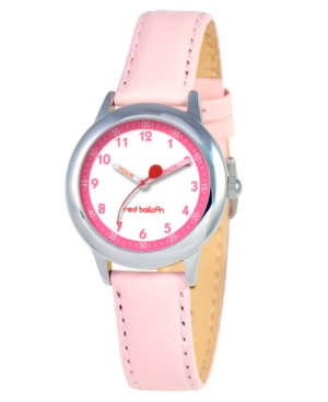 Red Balloon Girls' Stainless Steel Time Teacher Watch