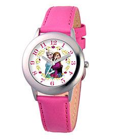 Disney Frozen Elsa & Anna Girl's Stainless Steel Watch
