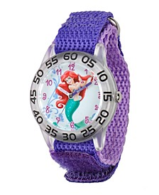 Disney Ariel Girls' Plastic Time Teacher Watch