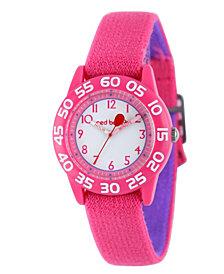 Red Balloon Girls' Pink Plastic Time Teacher Watch