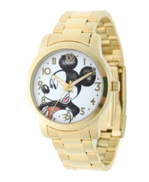Disney Mickey Mouse Men's Gold Alloy Watch