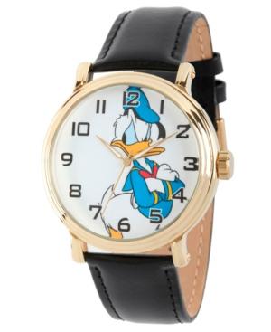 Disney Donald Duck Men's Gold Vintage Alloy Watch