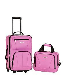 Rockland 2PCE Softside Luggage Set