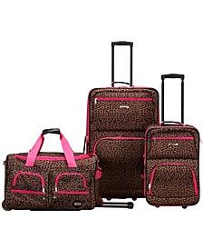 3-Pc. Softside Luggage Set