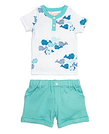 Masala Baby Organic Cotton Two Piece Set, Unisex