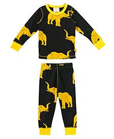 Organic Baby Pjs Long Sleeve Giraffe