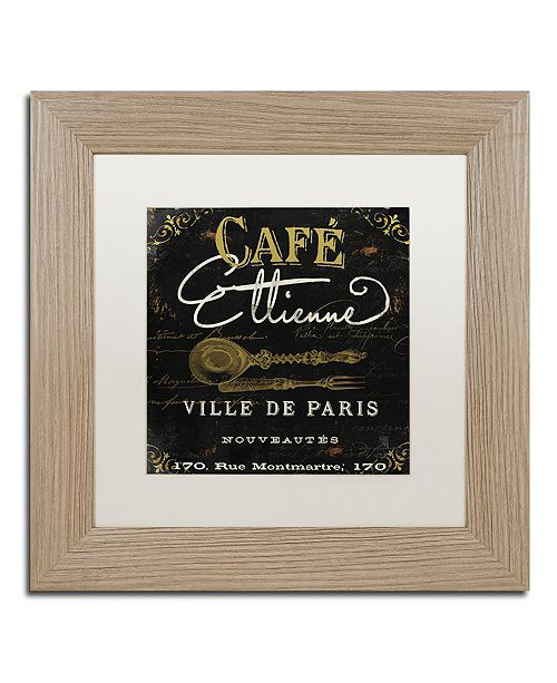 "Trademark Global Color Bakery 'La Cuisine Ii' Matted Framed Art, 11"" x 11"""