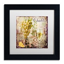 "Color Bakery 'Wine Country V' Matted Framed Art, 11"" x 11"""