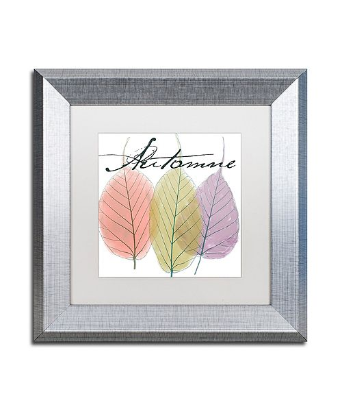 "Trademark Global Color Bakery 'Seasons Ii' Matted Framed Art, 11"" x 11"""