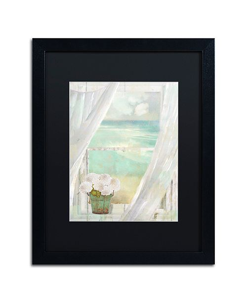 "Trademark Global Color Bakery 'Summer Me Ii' Matted Framed Art, 16"" x 20"""