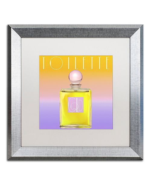 "Trademark Global Color Bakery 'Colored Scents Ii' Matted Framed Art, 16"" x 16"""