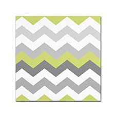 Color Bakery 'Calyx Chevron' Canvas Art