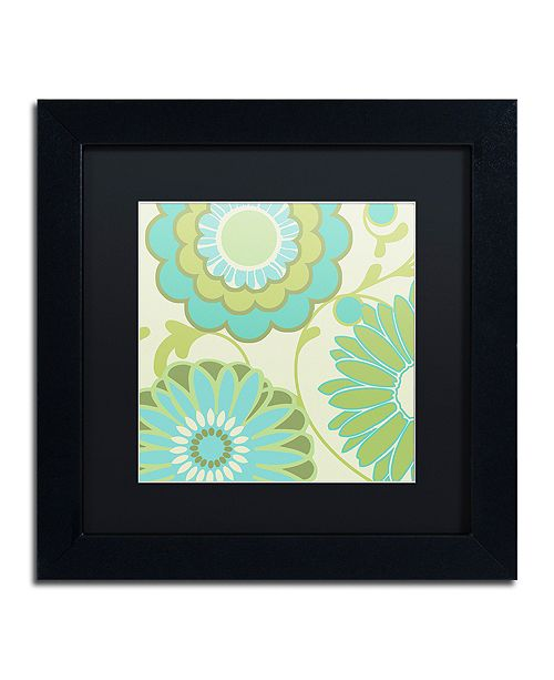 "Trademark Global Color Bakery 'Hope I' Matted Framed Art, 11"" x 11"""