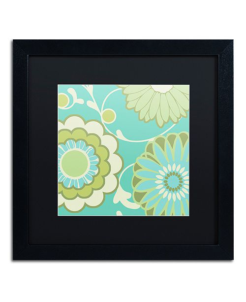 "Trademark Global Color Bakery 'Hope Ii' Matted Framed Art, 16"" x 16"""