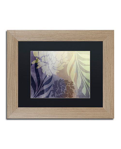 "Trademark Global Color Bakery 'Garden Waltz Ii' Matted Framed Art, 11"" x 14"""