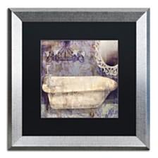 "Color Bakery 'Le Bain Paris Ii' Matted Framed Art, 16"" x 16"""