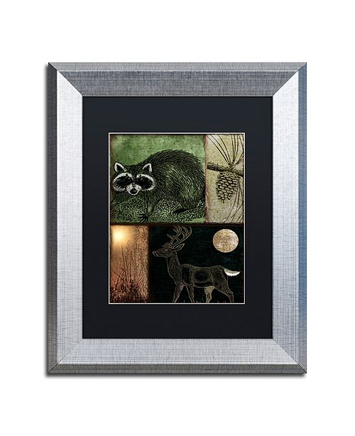 """Trademark Global Color Bakery 'Locked And Loaded Ii' Matted Framed Art, 11"""" x 14"""""""