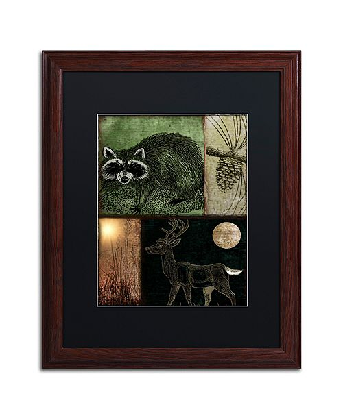 """Trademark Global Color Bakery 'Locked And Loaded Ii' Matted Framed Art, 16"""" x 20"""""""