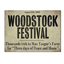 Color Bakery 'Woodstock' Canvas Art