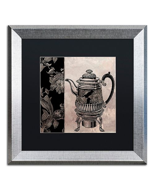 """Trademark Global Color Bakery 'Victorian Table Iii' Matted Framed Art, 16"""" x 16"""""""