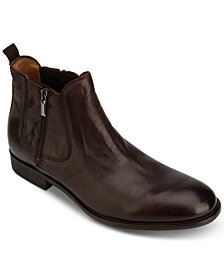 Kenneth Cole Men's Indio Zip Leather Boots