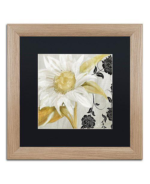 """Trademark Global Color Bakery 'Sunroom I' Matted Framed Art, 16"""" x 16"""""""