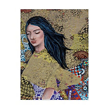 Cherie Roe Dirksen 'Snow White Woman' Canvas Art