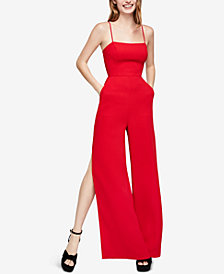 BCBGeneration Strappy Wide-Leg Jumpsuit
