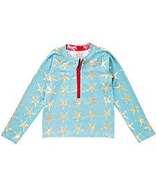 Masala Baby Rashguard Long Sleeve Starfish Turquoise