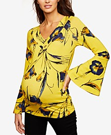 Maternity Bell-Sleeve Top